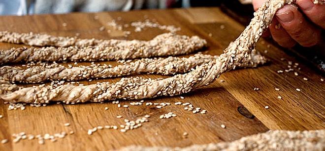 Integral bread sticks