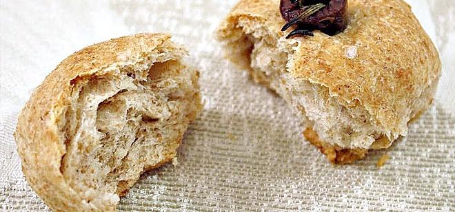 Buns from Granum flour